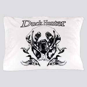 Duck Hunter Labrador Pillow Case