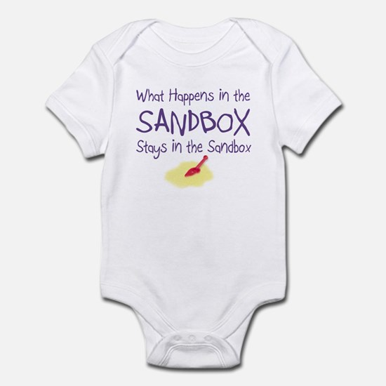Sandbox w/Shovel Infant Bodysuit