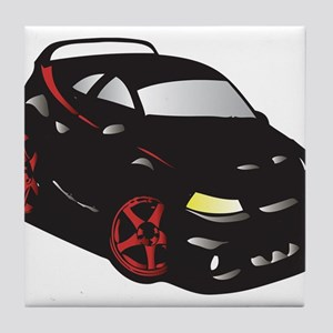Import Tuner Tile Coaster