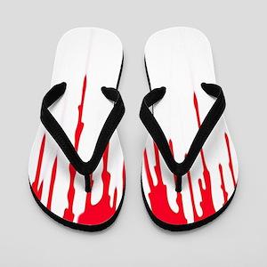 Bleeding Flip Flops