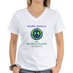 Makepeacewearth- T-Shirt (w)