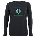 Makepeacewearth- Plus Size T-Shirt