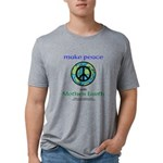 Makepeacewearth- Tri-Blend T-Shirt (m)