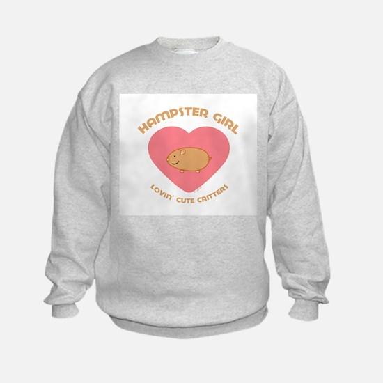 Hamster girl Sweatshirt