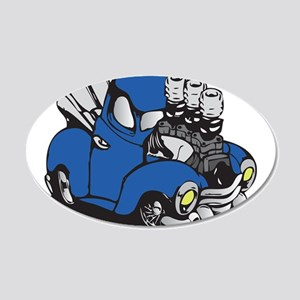 Muscle Truck Wall Decal