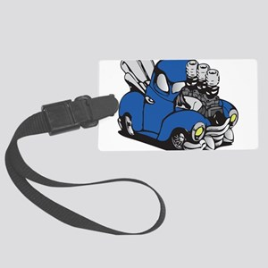 Muscle Truck Luggage Tag