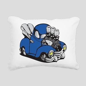 Muscle Truck Rectangular Canvas Pillow