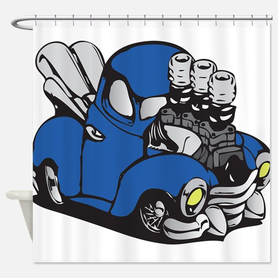 Muscle Truck Shower Curtain