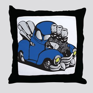 Muscle Truck Throw Pillow