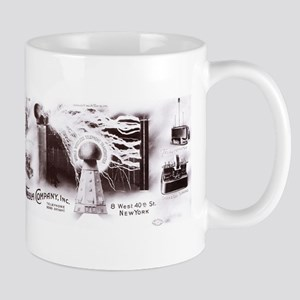 Tesla Electric Company letterhead Mugs