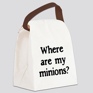 minions Canvas Lunch Bag