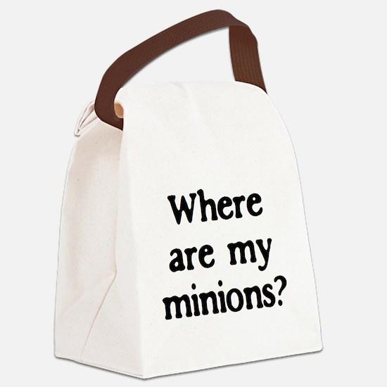 minions Canvas Lunch Bag