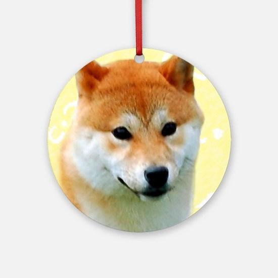 Eggstra Special Shiba Ornament (Round)