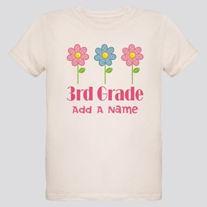 Personalized 3rd Grade daisies T-Shirt