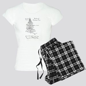 driftwood christmas tree Pajamas