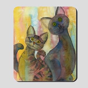 Monsters (kittens) Tough Case 4/4s Mousepad