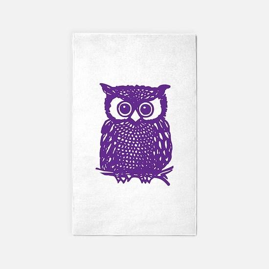 Owl 3'x5' Area Rug