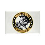 Minuteman Civil Defense Corps Rectangle Magnet (10