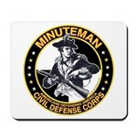 Minuteman Civil Defense Corps Mousepad