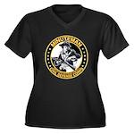 Minuteman Civil Defense Corps Women's Plus Size V-