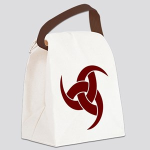 triple horn of odin Red Canvas Lunch Bag