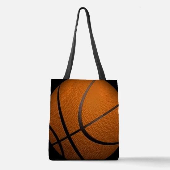 Basketball Sport Polyester Tote Bag