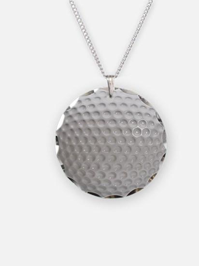 Golf Ball Sport Necklace