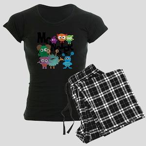 Monsters Women's Dark Pajamas