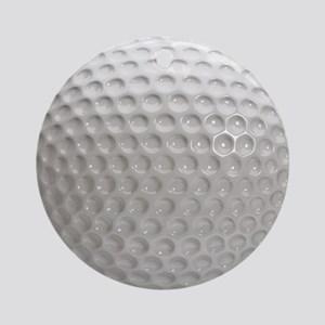 Golf Ball Sport Round Ornament