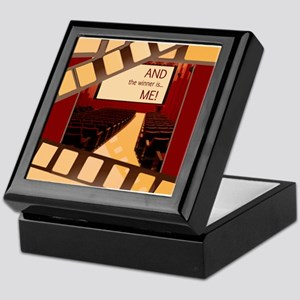 And the Winner Is Me Card Wide Orn Keepsake Box