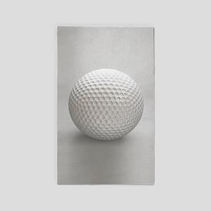 Golf Ball Sport Area Rug