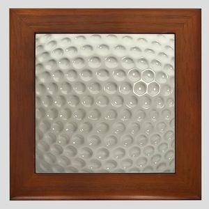 Golf Ball Sport Framed Tile