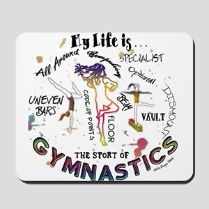 The Story of Gymnastics Mousepad