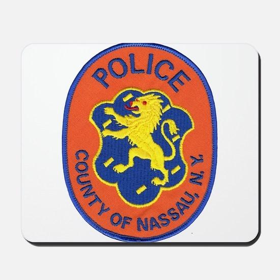 Nassau County Police Mousepad
