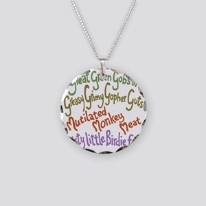 gopher-guts-T Necklace Circle Charm