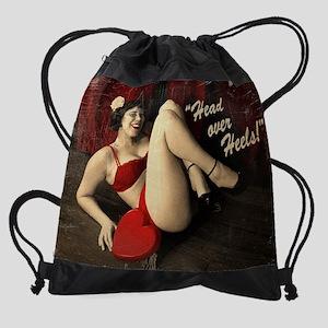 head-over-heels_new_9x12 Drawstring Bag