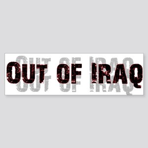 Out of Iraq Bumper Sticker