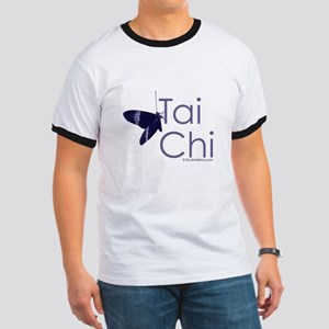 Tai Chi Butterfly 3 Ringer T
