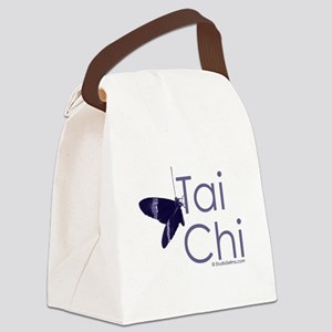 Tai Chi Butterfly 3 Canvas Lunch Bag