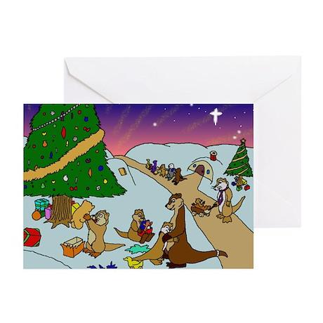 Otter Island Christmas Cards (Pk of 10)