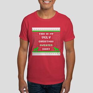 Ugly Christmas Shirt Red T-Shirt