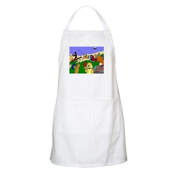 Otter Day Apron