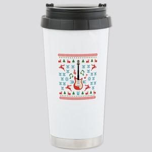 Rock Ugly Sweater Stainless Steel Travel Mug