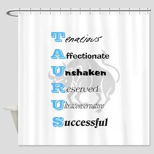 Taurus Shower Curtain