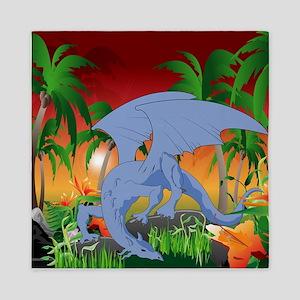 fantastic dragons Queen Duvet