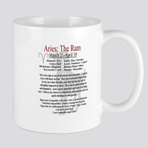 Aries traits Mugs