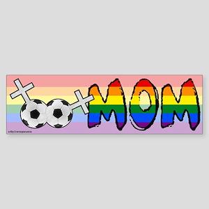 Lesbian Soccer Mom Sticker (Bumper)