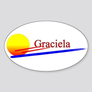 Graciela Oval Sticker