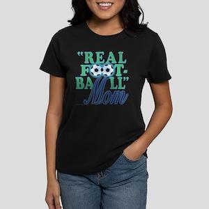 Real Football (ocean) Women's Dark T-Shirt