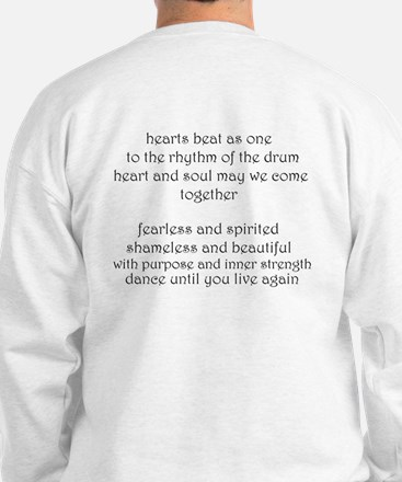 """Circle of Sisters chorus"" Sweatshirt"